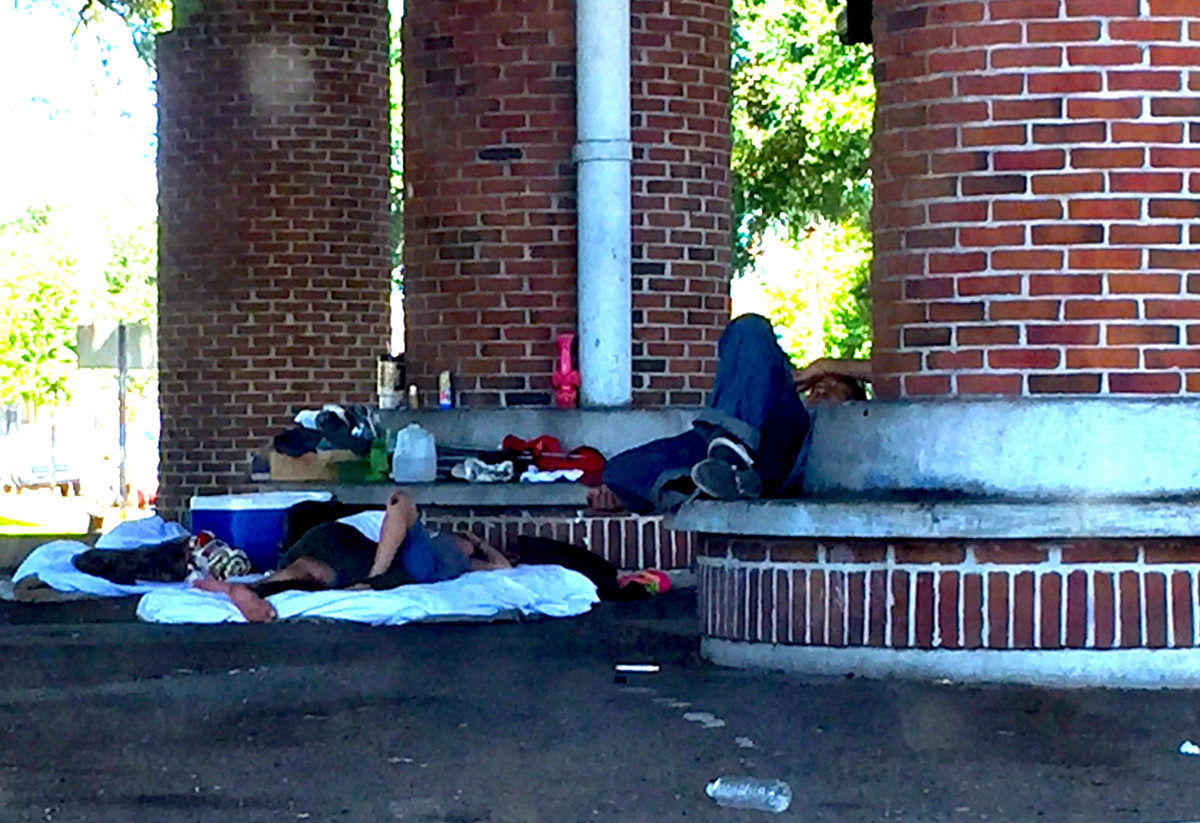 New Orleans Homeless Poor