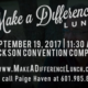 Make A Difference Lunch Promo